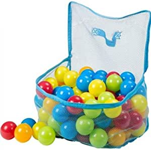 100 Playballs in mesh carry bag