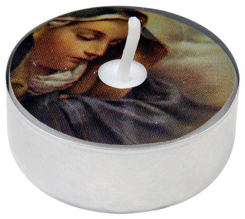 Pure D'light Motiv-Teelichte Maria Rk 0002, 1er Pack (1 x 18 Stück)