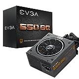 EVGA 650 BQ, 80+ Bronze 650W, Semi Modular, Incluye autoprobador de Encendido, Fuente de alimentación 110-BQ-0650-V2