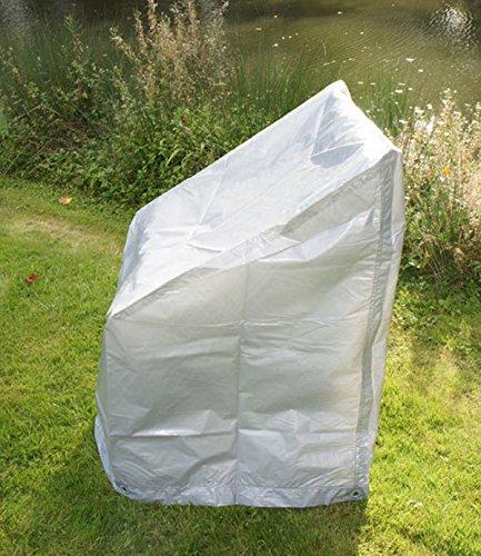 PEGANE Housses de Protection Pile de chaises en Argent, 67 x 67 x 109 cm