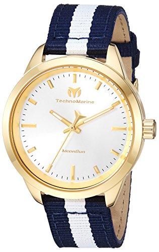 TechnoMarine Moon Sun Reloj de Mujer Cuarzo Caja de Acero TM-117006