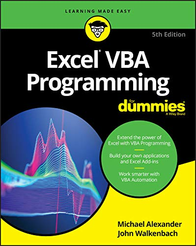 Excel VBA Programming For Dummies (For Dummies (Computer/Tech)) (English Edition)