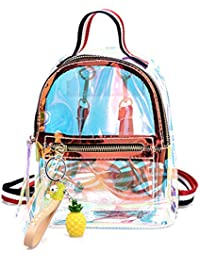 JAGENIE - Mochila Escolar, Diseño de Jalea con Láser metálico, plástico, ...