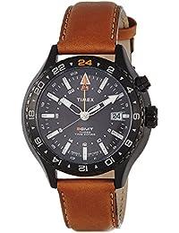 Timex Herren-Armbanduhr Man Iq Mns Gmt Analog Quarz T2P427