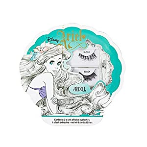 Little Mermaid Ariel False Eyelash Duo - Ardell Black Demi Wispies and 203 Lashes