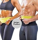 #9: VINGABOY Slimming Belt / Tummy Trimmer Hot Body Shaper Slim Belt / Hot Waist Shaper Belt Instant Slim Look Belt For Men And Women Pack Of 2