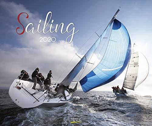Sailing 2020: Segelkalender und Naturkalender über den Sport des Segelns. PhotoArt Kalender. Quer-format: 55 x 45,5 cm -