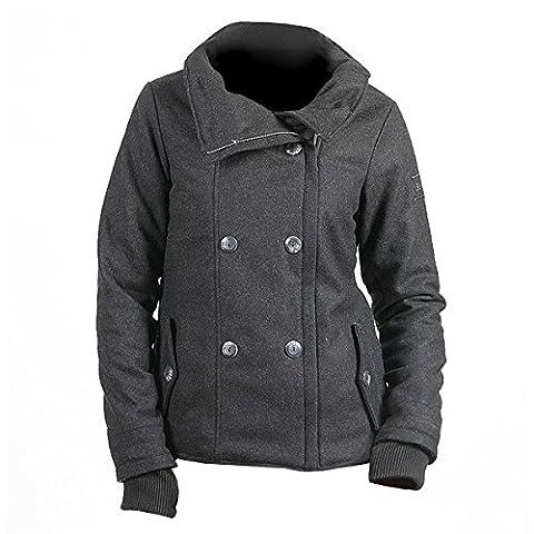 BENCH Pea Coat Jacke schwarz, Größe:S