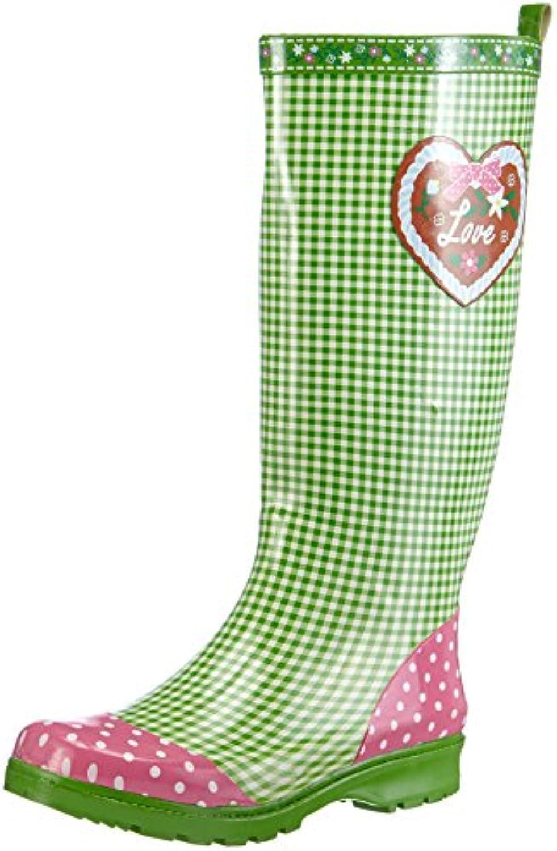 Playshoes Gummistiefel, Regenstiefel Landhaus, Oktoberfest, Aus Naturkautschuk - Botas Mujer
