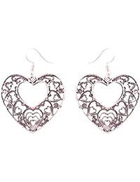 SKN Multicolour Party Fashion Dangle & Drop Antique Oxidised Earrings For Women & Girls (SKN-4071)