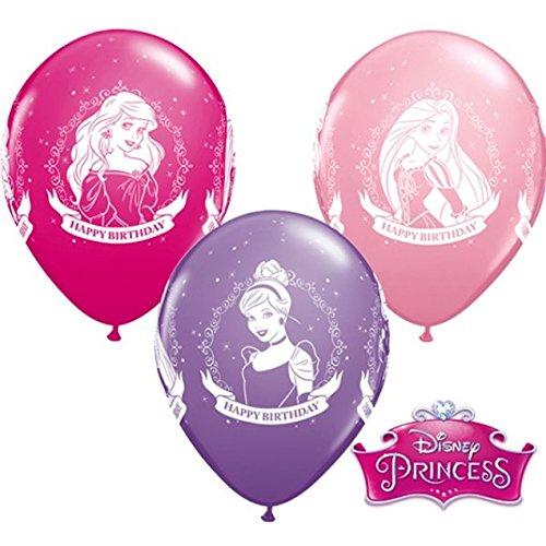 10 Luftballons Disney Princess 26cm (Disney Princess Ballon)