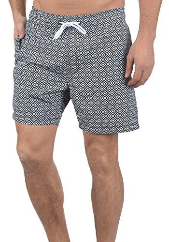 Blend Meo Herren Swim-Shorts Kurze Hose Badehose, Größe:XL, Farbe:Phantom Grey (70010)