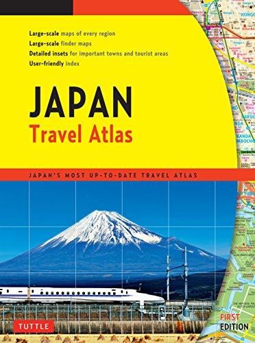 Japan Travel Atlas por Tuttle Publishing