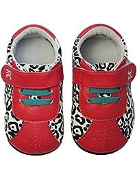 Rose & Chocolat Rcm White Leopard Runnerz - Zapatillas de Running Bebé-Niños