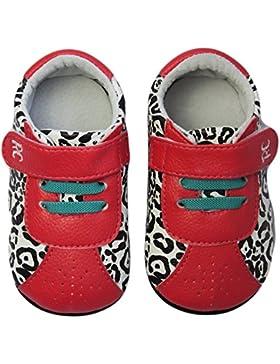 Rose & ChocolatRCM Leopard RunnerZ - Patucos y Zapatillas de Estar Por casa Bebé-Niños