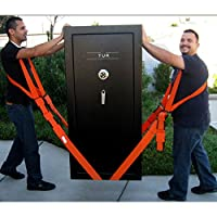 Lifting and Moving Straps,Heavy Objects Without Back Pain,Straps and Harnesses for 2 Movers(2-Person Shoulder Lifting and Moving System)