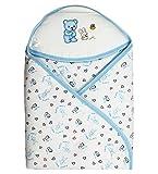 Wonderkids Blue Little Bunny Print Hoode...