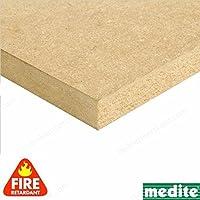 Builder comerciante cnklj0009retardante de fuego, tablero de madera DM, madera, 12x 1220x 610mm