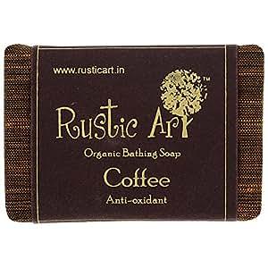 Rustic Art Organic Coffee Soap 100 grams