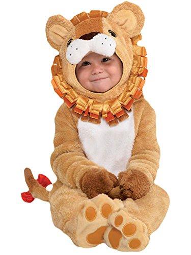 - Baby Karneval Kostüm Löwe , Beige, Größe 80-, 1- Jahre (Niedlich, Einfach, Gruppe Halloween-kostüme)
