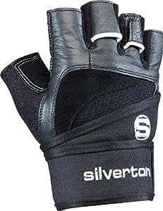 Silverton Power Herren Handschuhe, Schwarz, XS