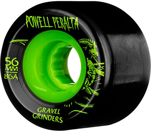 Powell Peralta Spiel-4Skateboard-Räder, Gravel Grinder 56x 86HAT - Grinder Skateboard