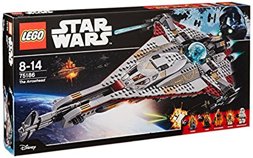 LEGO Star Wars 75186 - The Arrowhead Raumschiff Spielzeug (Lego Minifiguren 8 Serie)
