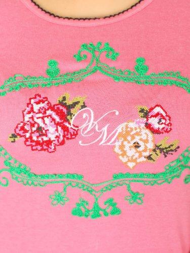 Vive Maria Damen Top Blooming Roses Tank Rosa (Pink)