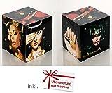 CUBE Adventskalender mit Schminke - Würfel Kosmetik Adventskalender für Frauen