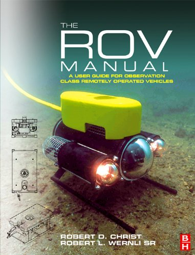 The rov manual: a user guide for remotely operated vehicles.