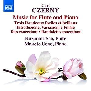 Czerny:Flute & Piano Music [Kazunori Seo; Makoto Ueno] [NAXOS: 8573335]