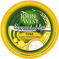 John West Untables De Atún Y Mayonesa 80g De Maíz Dulce (Paquete de 6)