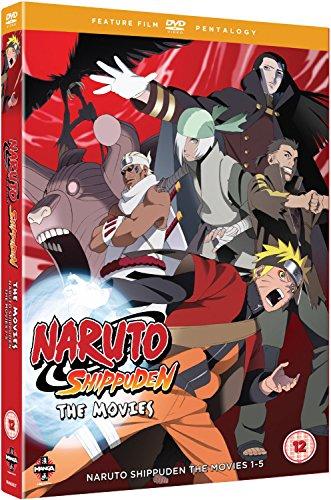 Naruto Shippuden Movie Pentology (Mo [Edizione: Regno Unito] [Import italien]