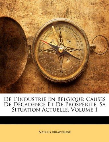 De L'industrie En Belgique: Causes De Décadence Et De Prospérité. Sa Situation Actuelle, Volume 1