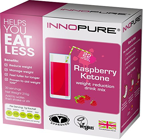 Innopure® Raspberry Ketone Appetite Control Weight Reduction Drink, 30 Sachets | Launch Offer