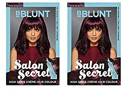 BBLUNT 4.20 WINE DEEP BURGANDY SALON SECRET- 2 PACK