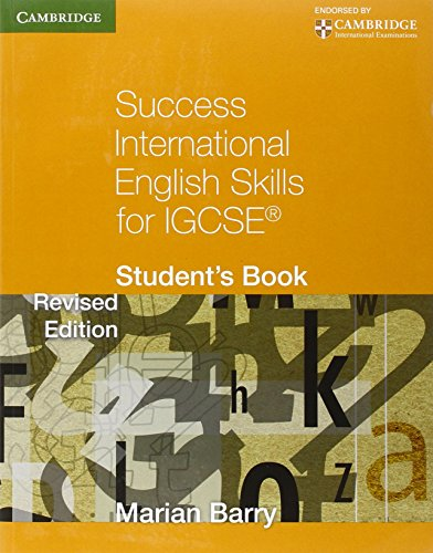 Success International English Skills For Igcse. Student's Book (Cambridge International IGCSE)