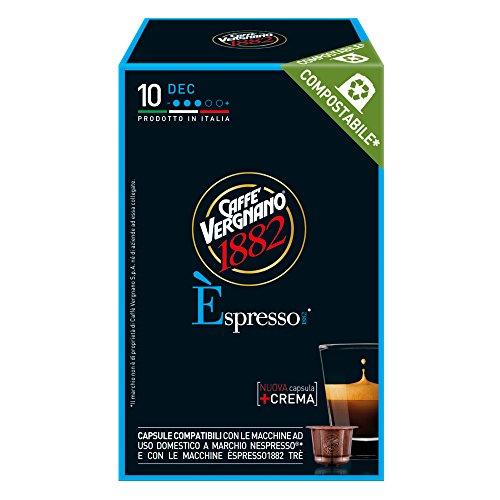 Caffè vergnano 1882 Èspresso1882 dec - 10 capsule - compatibili nespresso