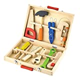 Wooden 10 Piece Tool Box Set