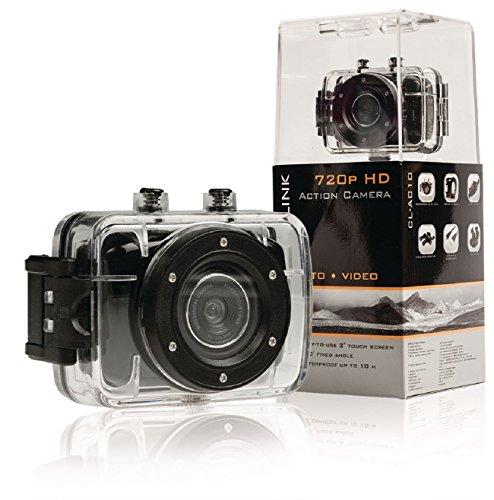 Veka Camera Sportive Sport 6,9HD 720P Touchscreen Gehäuse Wasserdicht + Halterungen Mount Radio Gehäuse