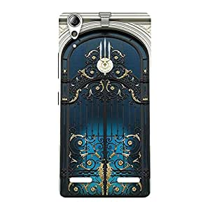 Gorgeous Royal Door Print Back Case Cover for Lenovo A6000