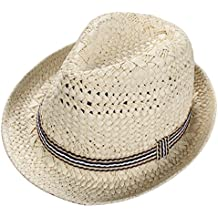 Skyeye Sombrero de Paja de los Niños UV de la Manera Visera de sol del Bebé a8449b95464