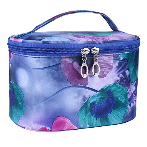 Cosmetic Organizer Kolylong Sac Maquillage Professionnel Cosmetic Bag Une Fleur Series Portable Sac A Main