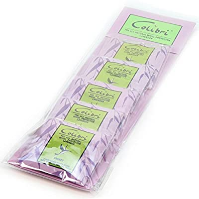 Hangerworld Lavender Moth Repellent Sachets For Drawers, Cupboards Wardrobe, Pack of 5 - low-cost UK light store.