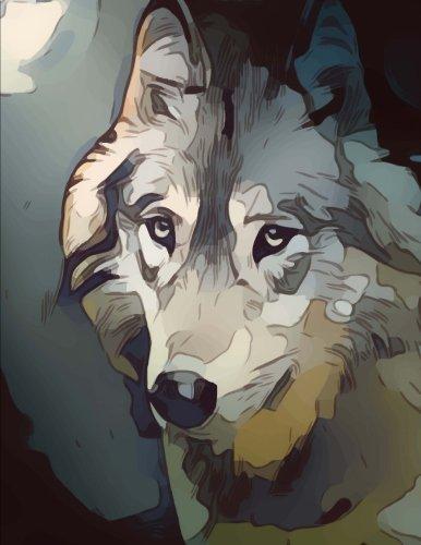 Wolf,quaderno a righe di Skyline