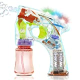 Best Bubble Guns - Bubble Gun Soap Kids Toy for Outdoor Garden Review