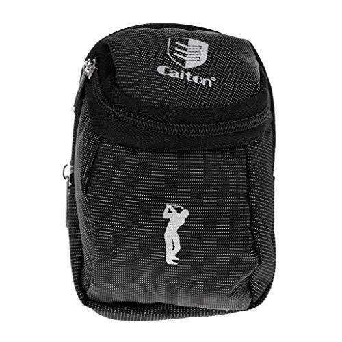 Yundxi Tragbare Mini Golfball Halter Tasche Tees