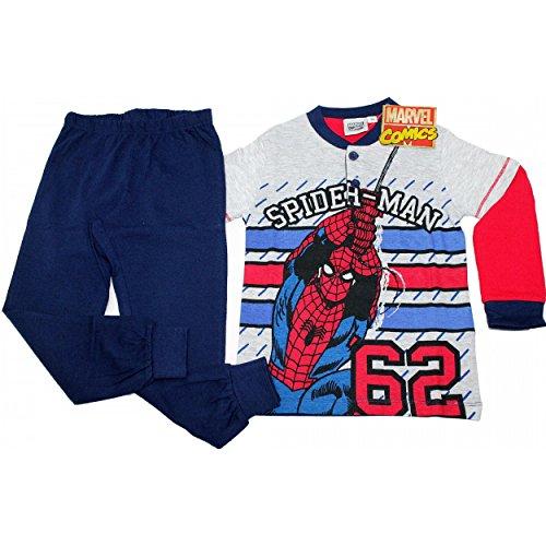 uomo-ragno-spiderman-ensemble-de-pyjama-garcon-rouge-rouge-rouge-taille-unique