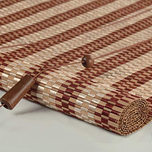 Seitenzug- & Springrollos Bambusvorhang Roll-Up-Fenster-Rollo Bambus-Vorhang-Licht, Das Schatten Filtert, Privatsphäre Drapieren, Leichte Bambus-Rollos (größe : 70x90cm)
