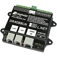 Digikeijs DR4088LN-CS (2R) 16 Channels S88N Feedback Module With LocoNet